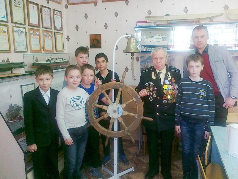 Встреча с ветераном ВОв Павлючук В.П. май 2015